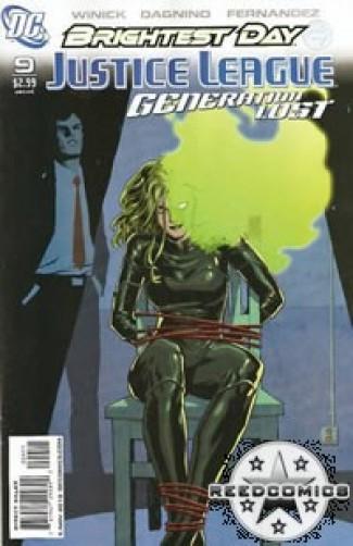 Justice League Generation Lost #9