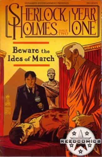 Sherlock Holmes Year One #2 (Cover A)
