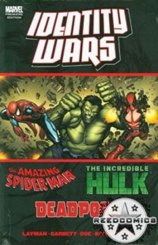 Deadpool Amazing Spiderman Hulk Identity Wars Premiere Hardcover