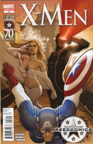 X-Men Volume 3 #9 (1 in 15 Captain America 70th Anniversary)