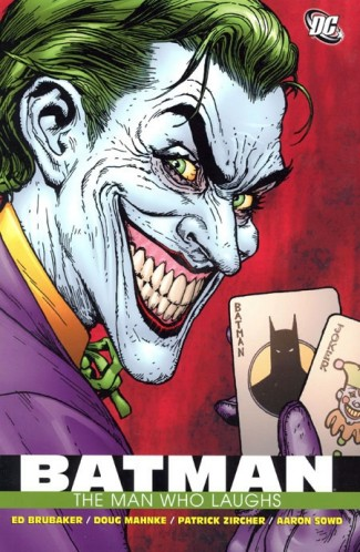 BATMAN THE MAN WHO LAUGHS GRAPHIC NOVEL