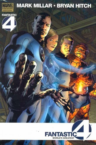 FANTASTIC FOUR WORLDS GREATEST HARDCOVER