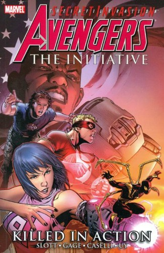 AVENGERS INITIATIVE VOLUME 2 KILLED IN ACTION GRAPHIC NOVEL
