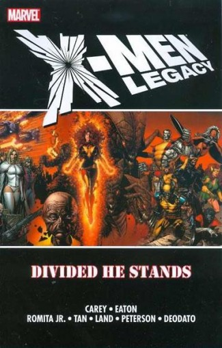 X-MEN LEGACY DIVIDED HE STANDS GRAPHIC NOVEL