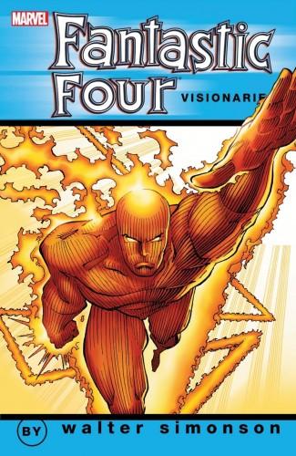FANTASTIC FOUR VISIONARIES WALTER SIMONSON VOLUME 3 GRAPHIC NOVEL