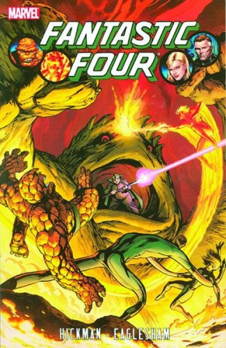FANTASTIC FOUR BY JONATHAN HICKMAN VOLUME 2 GRAPHIC NOVEL