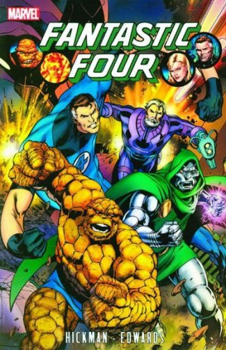 FANTASTIC FOUR BY JONATHAN HICKMAN VOLUME 3 GRAPHIC NOVEL