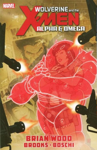 WOLVERINE AND THE X-MEN ALPHA AND OMEGA GRAPHIC NOVEL