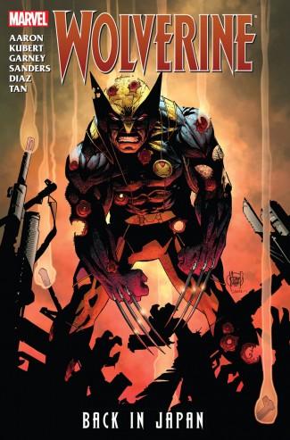 Wolverine Back In Japan Graphic Novel