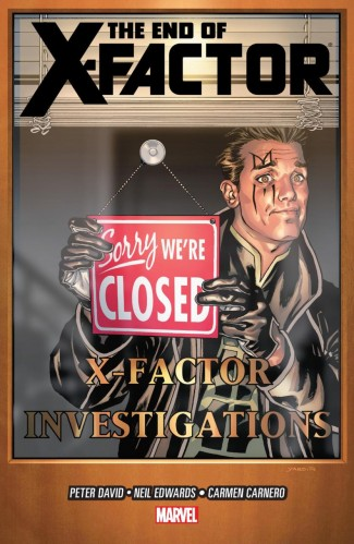 X-FACTOR VOLUME 21 THE END OF X-FACTOR GRAPHIC NOVEL