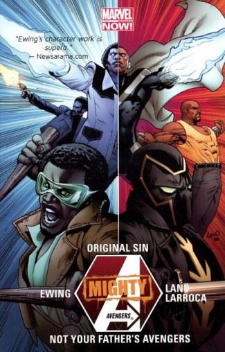 MIGHTY AVENGERS VOLUME 3 ORIGINAL SIN NOT FATHERS AVENGERS GRAPHIC NOVEL