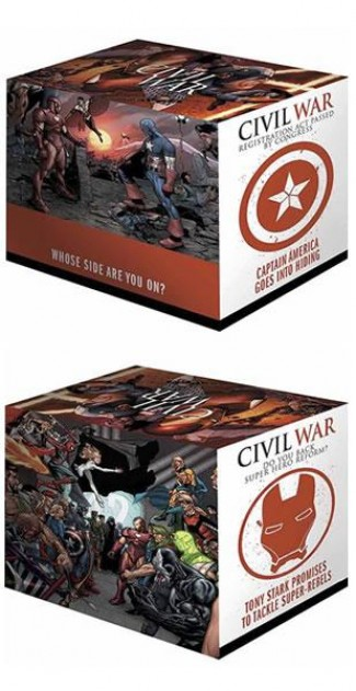 CIVIL WAR BOX SET SLIPCASE HARDCOVERS