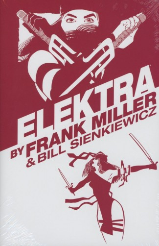ELEKTRA BY FRANK MILLER OMNIBUS HARDCOVER