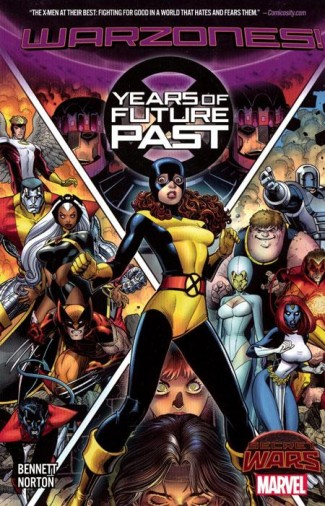 X-MEN YEARS OF FUTURE PAST GRAPHIC NOVEL