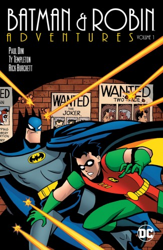 BATMAN AND ROBIN ADVENTURES VOLUME 1 GRAPHIC NOVEL