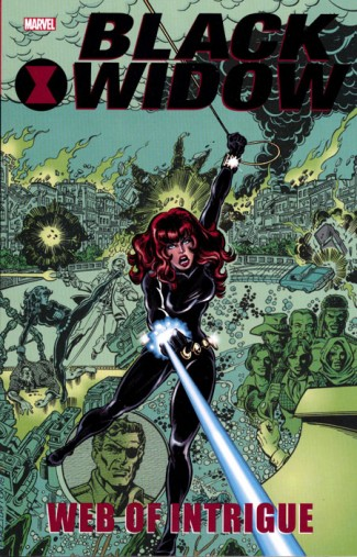 BLACK WIDOW WEB OF INTRIGUE GRAPHIC NOVEL