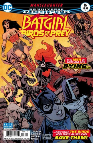 BATGIRL AND THE BIRDS OF PREY #16