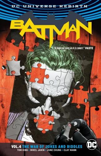 BATMAN VOLUME 4 THE WAR OF JOKES AND RIDDLES GRAPHIC NOVEL