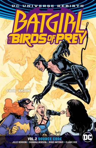BATGIRL AND THE BIRDS OF PREY VOLUME 2 SOURCE CODE GRAPHIC NOVEL