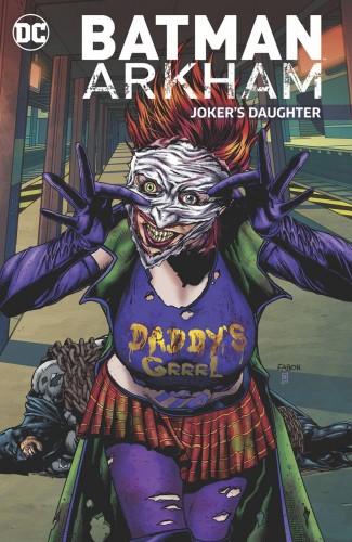 BATMAN ARKHAM JOKERS DAUGHTER GRAPHIC NOVEL