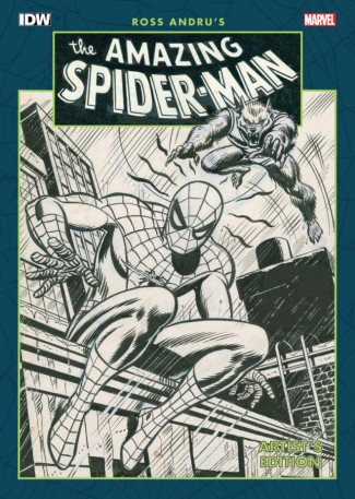 ROSS ANDRU AMAZING SPIDER-MAN ARTIST EDITION HARDCOVER