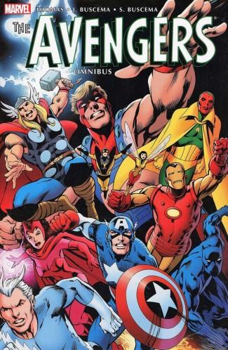 AVENGERS OMNIBUS VOLUME 3 HARDCOVER DAVIS COVER