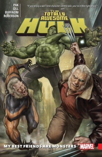 TOTALLY AWESOME HULK VOLUME 4 MY BEST FRIENDS ARE MONSTERS GRAPHIC NOVEL