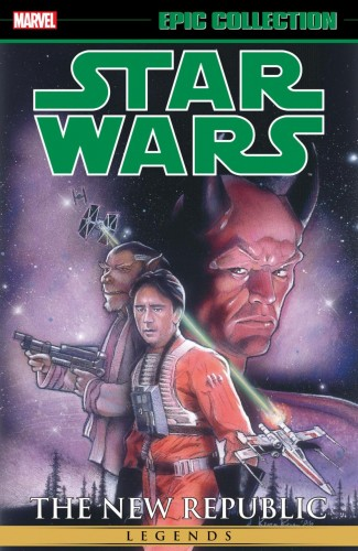STAR WARS LEGENDS EPIC COLLECTION NEW REPUBLIC VOLUME 3 GRAPHIC NOVEL