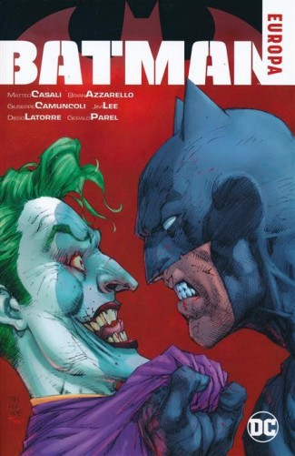 BATMAN EUROPA GRAPHIC NOVEL