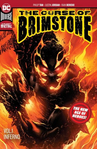 CURSE OF BRIMSTONE VOLUME 1 INFERNO GRAPHIC NOVEL