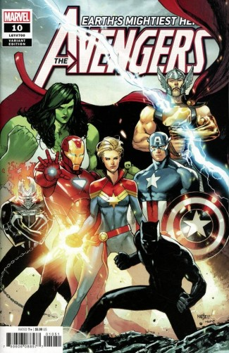 AVENGERS #10 (2018 SERIES) MARQUEZ 1 IN 25 INCENTIVE VARIANT