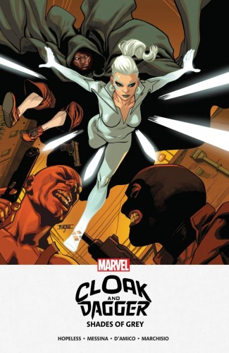 CLOAK AND DAGGER SHADES OF GRAY MPGN GRAPHIC NOVEL