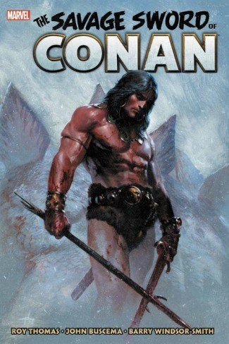 SAVAGE SWORD OF CONAN THE ORIGINAL MARVEL YEARS OMNIBUS VOLUME 1 HARDCOVER