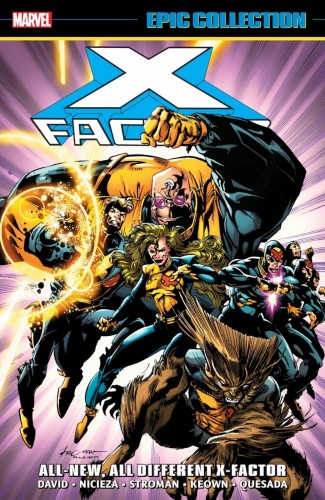 X-FACTOR EPIC COLLECTION ALL-NEW ALL-DIFFERENT X-FACTOR GRAPHIC NOVEL