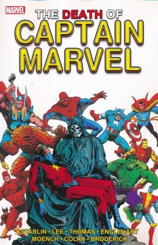 DEATH OF CAPTAIN MARVEL GRAPHIC NOVEL (NEW PRINTING)