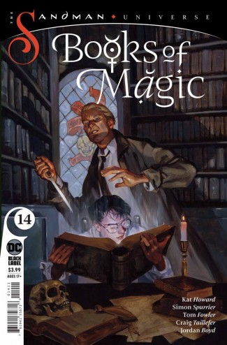 BOOKS OF MAGIC #14 (2018 SERIES)