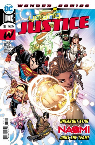 YOUNG JUSTICE #10 (2019 SERIES)