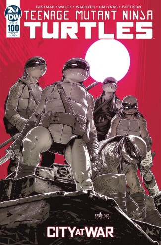 TEENAGE MUTANT NINJA TURTLES #100 (2011 SERIES) 1 IN 10 INCENTIVE VARIANT