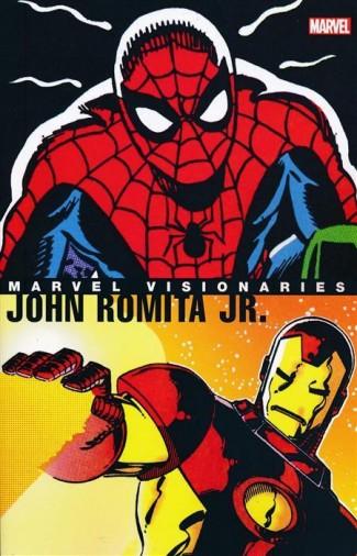 MARVEL VISIONARIES JOHN ROMITA JR GRAPHIC NOVEL