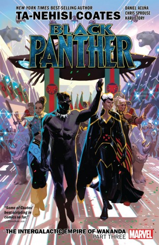 BLACK PANTHER BOOK 8 THE INTERGALACTIC EMPIRE OF WAKANDA PART 3 GRAPHIC NOVEL