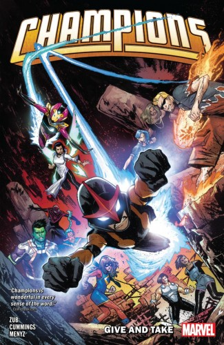 CHAMPIONS BY JIM ZUB VOLUME 2 GIVE AND TAKE GRAPHIC NOVEL