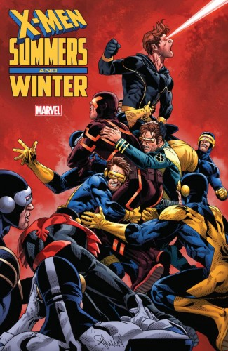 X-MEN SUMMERS AND WINTER GRAPHIC NOVEL