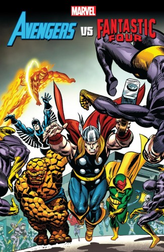 AVENGERS VS FANTASTIC FOUR GRAPHIC NOVEL