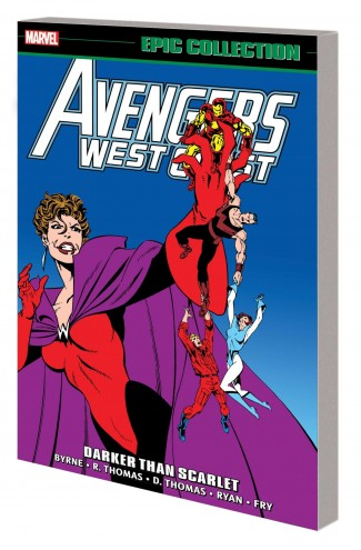 AVENGERS WEST COAST EPIC COLLECTION DARKER THAN SCARLET GRAPHIC NOVEL