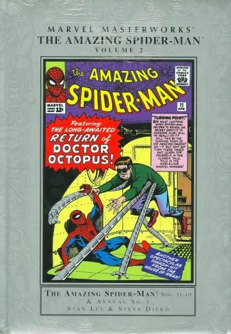 MARVEL MASTERWORKS AMAZING SPIDER-MAN VOLUME 2 HARDCOVER (NEW PRINTING)