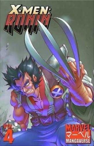 MARVEL MANGAVERSE VOLUME 4 X-MEN RONIN GRAPHIC NOVEL
