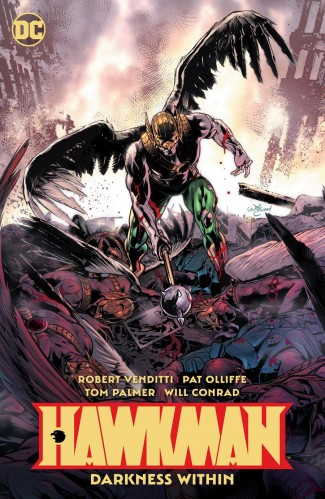 HAWKMAN VOLUME 3 THE DARKNESS WITHIN GRAPHIC NOVEL