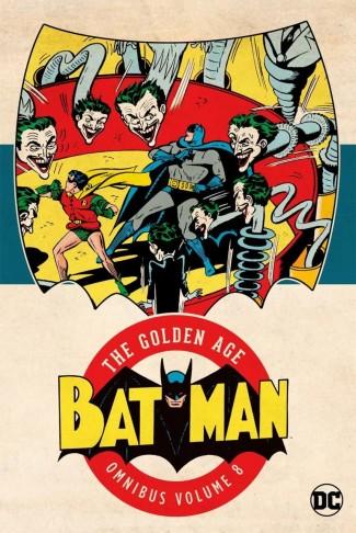BATMAN THE GOLDEN AGE OMNIBUS VOLUME 8 HARDCOVER