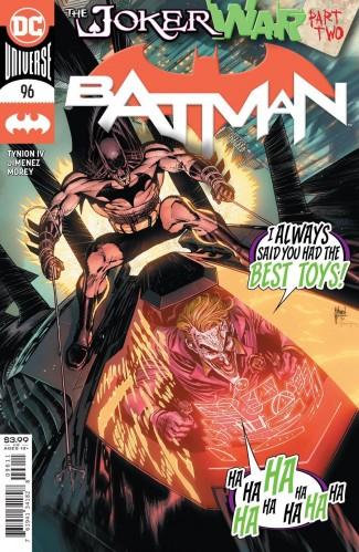 BATMAN #96 (2016 SERIES) JOKER WAR TIE-IN