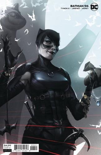 BATMAN #96 (2016 SERIES) JOKER WAR TIE-IN FRANCESCO MATTINA VARIANT
